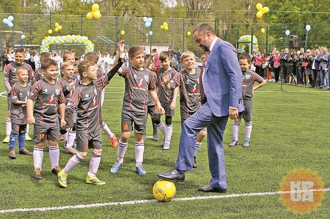 Большой спортивный праздник в Днепре: Кубок чемпионов для всех желающих и новые стадионы для юных спортсменов
