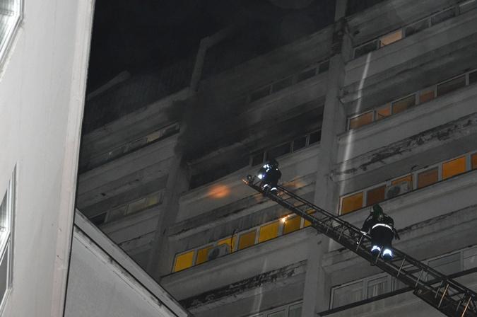 В Днепре горела больница имени Мечникова [фото]
