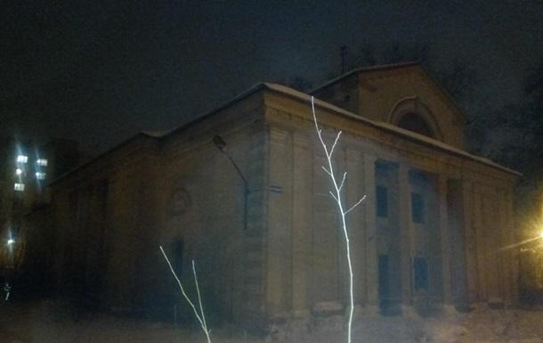 В Харькове рухнула крыша здания