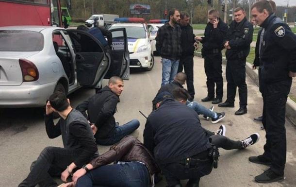 В Харькове студенты из Израиля открыли стрельбу из автомобиля