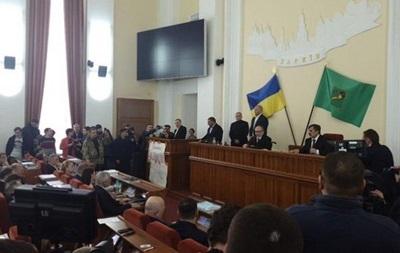 В Харькове заминировали мэрию во время визита активистов